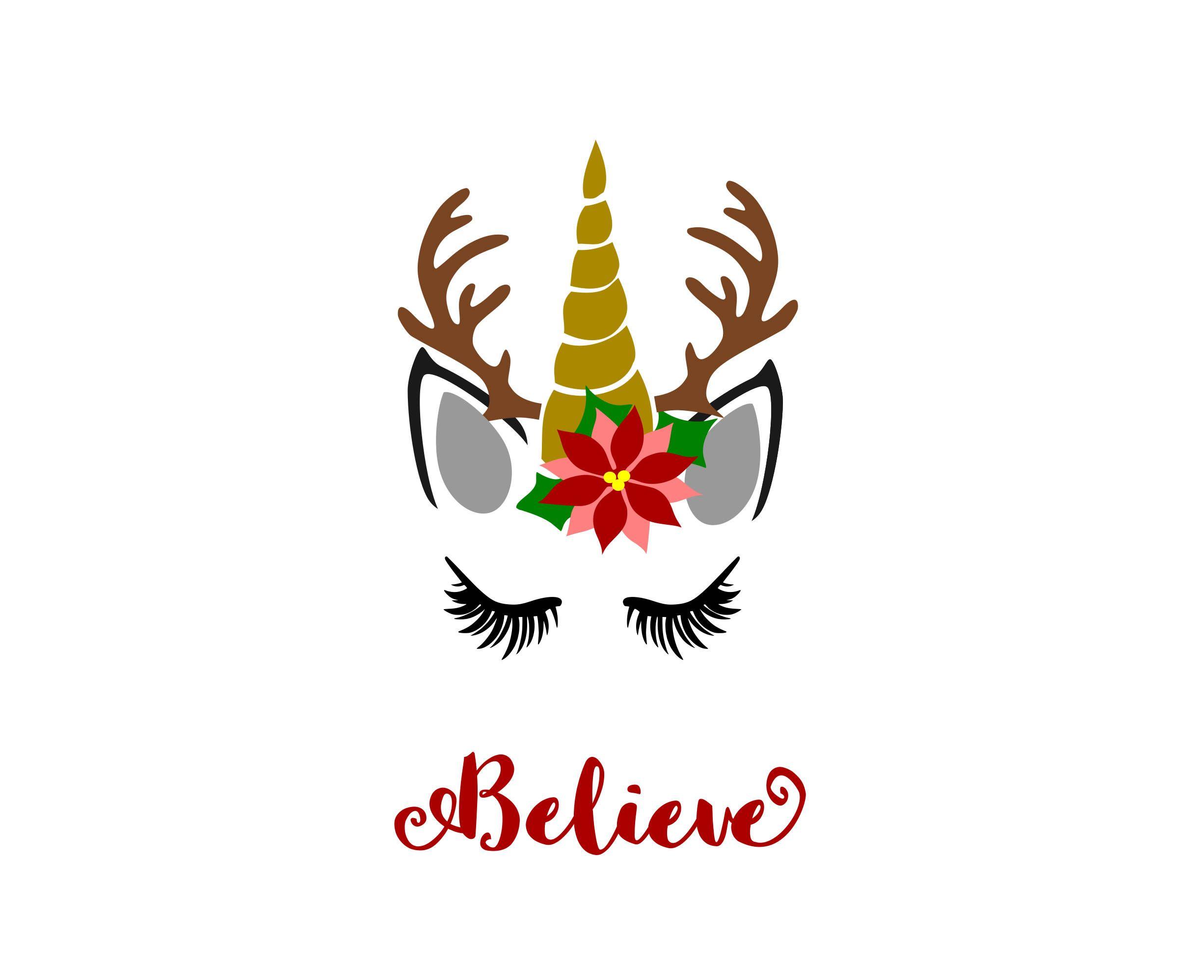 Unicorn Reindeer Svg Reindeer Svg Christmas Unicorn Svg Etsy In 2020 Christmas Unicorn Unicorn Svg Christmas Svg