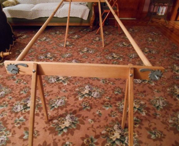 Vintage Sears Quilting Frame With Stand Complete In Box 25 4811c Quilting Frames Quilts Frame