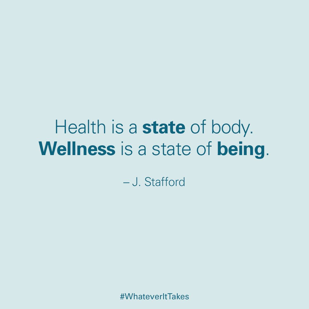 Though Health And Wellness Are Often Synonymous You Cant Achieve Good Health Without First Practicing Wellness Achievement Quotes Motivational Posts Motivation