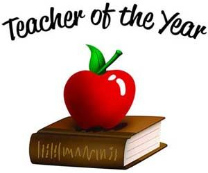 Image result for elementary teacher of the year clipart