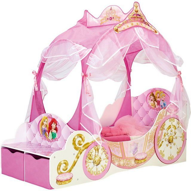 Kinderbett Disney Princess Kutsche, 70 x 140 cm Kinder