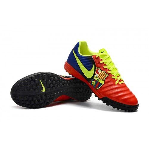 hot sale online c6538 814a8 Nike Fotbollsskor Konstgras Tiempo Ligera IV TF Herr Rod Fluorescent Gron