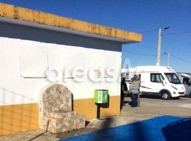 Area de servicios y pernocta autocaravanas - Monesterio - BADAJOZ
