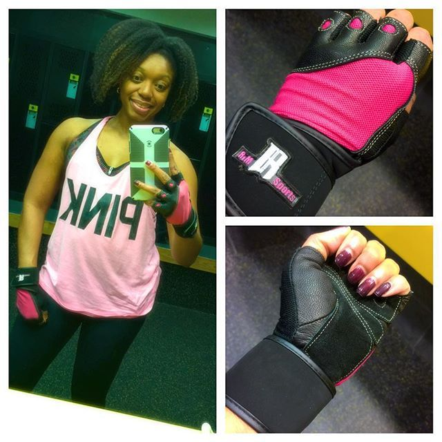 Got in an awesome back workout with my #RimSports gloves. #workout #workoutgear #weighttrain #fitchick #getnfitstaynfit #fitmom #momswholift
