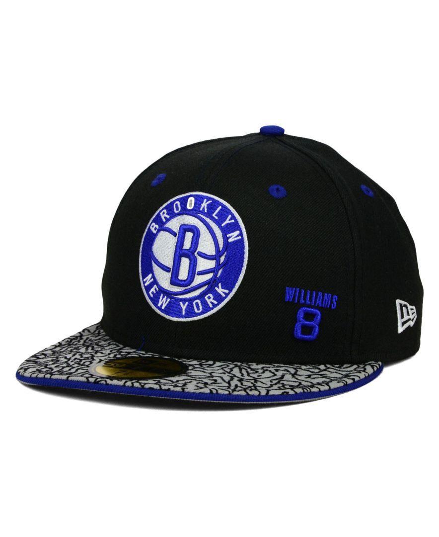 low priced ee409 5b5b0 ... best new era brooklyn nets hwc august hookups 59fifty cap 07c4e 0a908
