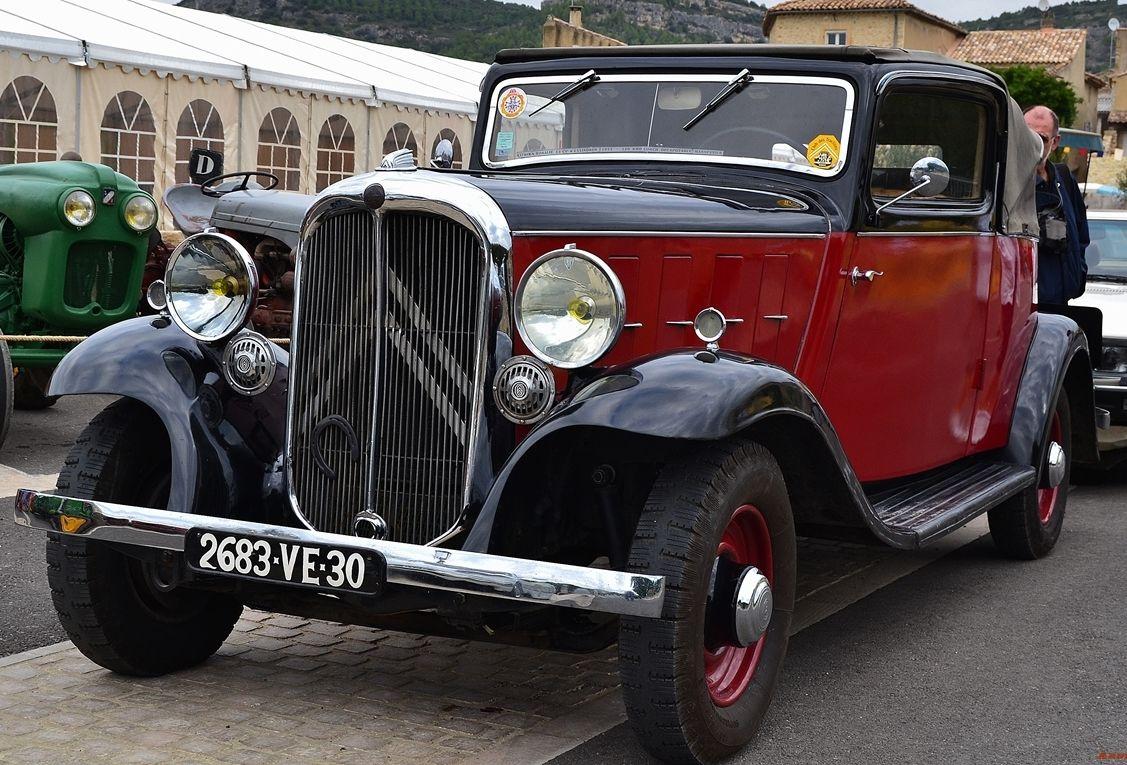 Citroen Rosalie 6 Cl 15 Cv Coach Decouvrable 1933 Vintage Cars Citroen Oldsmobile