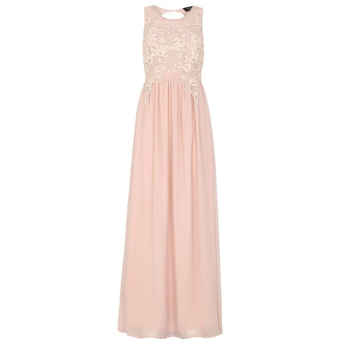 AX Paris Cream lace top maxi dress | Debenhams | Bridesmaids | Pinterest