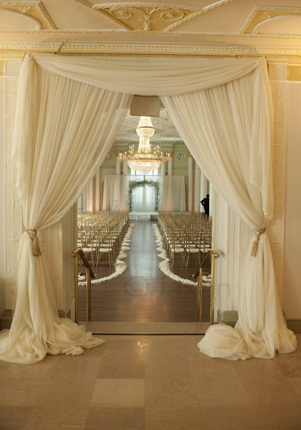 Good Draped Biltmore Ceremony Entrance Photo By Jaxon Photography