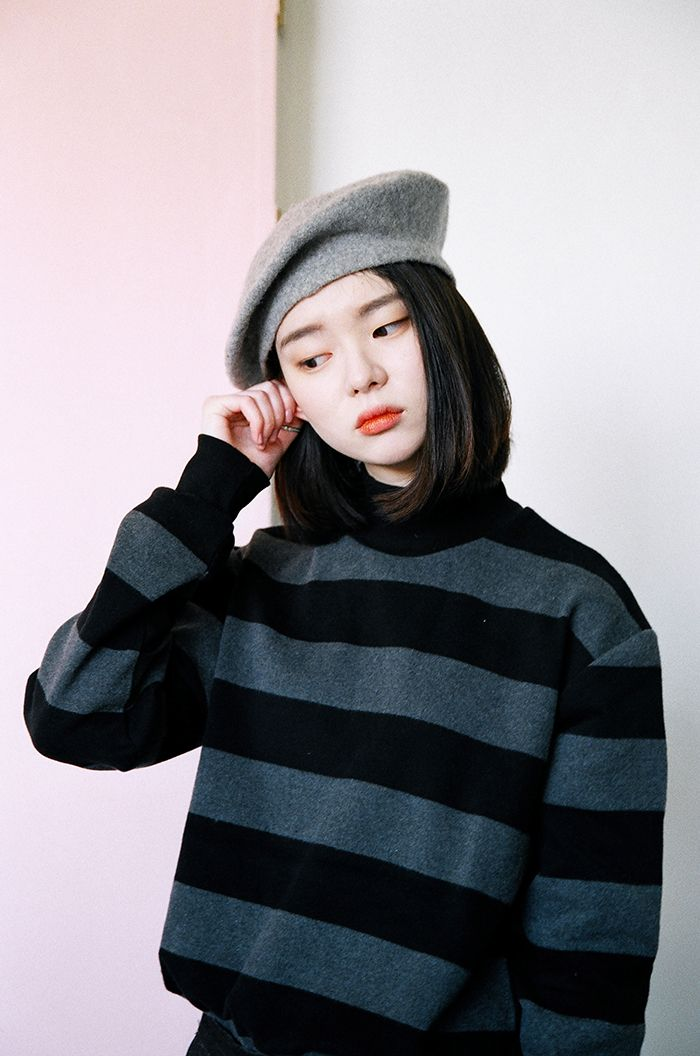 24fd90ed176 Beret Outfit · Winter Hats · tumblr o0otwfd9MY1qzkisto1 1280.jpg (700×1056)  Minimal Outfit