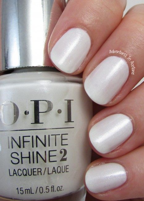 Opi White Gel Nail Polish: Swatch Saturday: OPI Infinite Shine SoftShades Collection