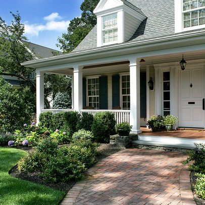 Landscaping a cape cod style home design ideas pictures for Landscaping for cape cod style houses