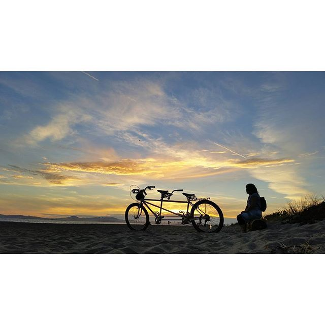 "Ashleys says ""Kool with a K!"" My wife tandem and sunset is all I need. by mannyacosta"