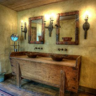 Sensational South Texas Ranch The Master Bath In This South Texas Download Free Architecture Designs Scobabritishbridgeorg