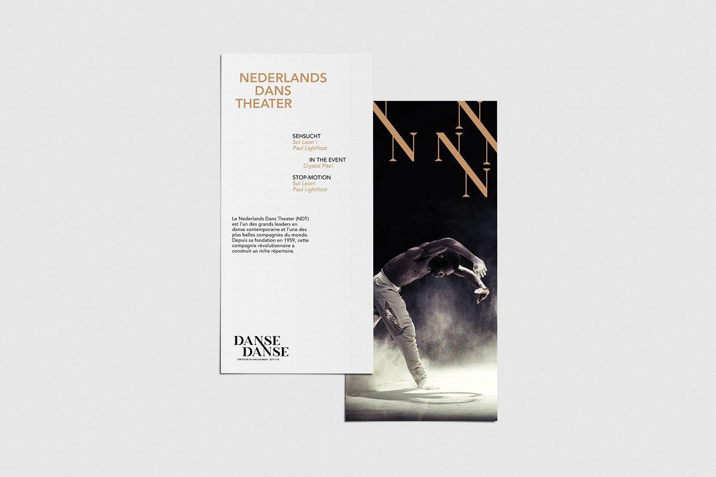 Danse Danse Branding on Behance Graphic design art