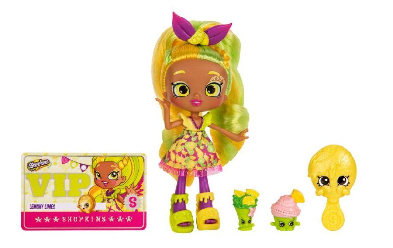 Shopkins Shoppies Season 4 Doll Lemony Limes Shoppies