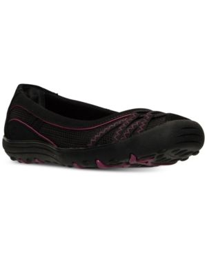 e63d44ea6891 Skechers Women s Earth Fest  Upcycle Casual Flat Sneakers from Finish Line  - Black 7.5