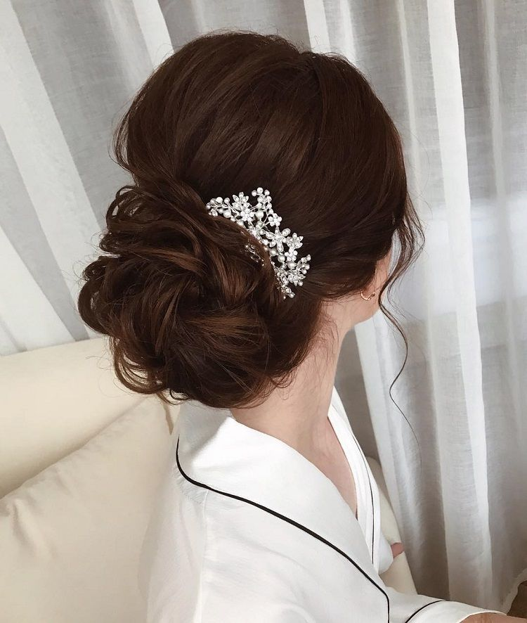 Top 20 Fabulous Updo Wedding Hairstyles: Fabulous Updo Wedding Hairstyles With Glamour