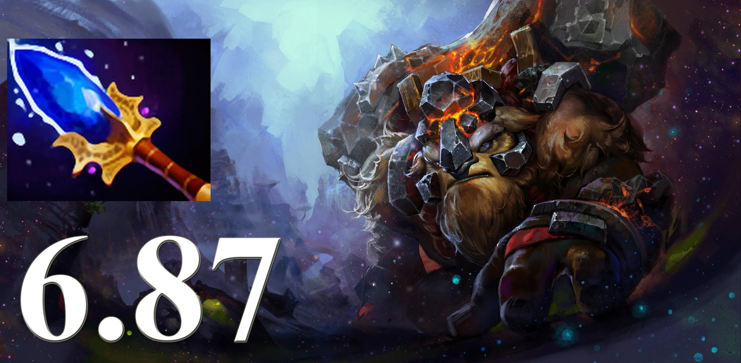 Dota 2 6.87 Earthshaker New Scepter Upgrade!