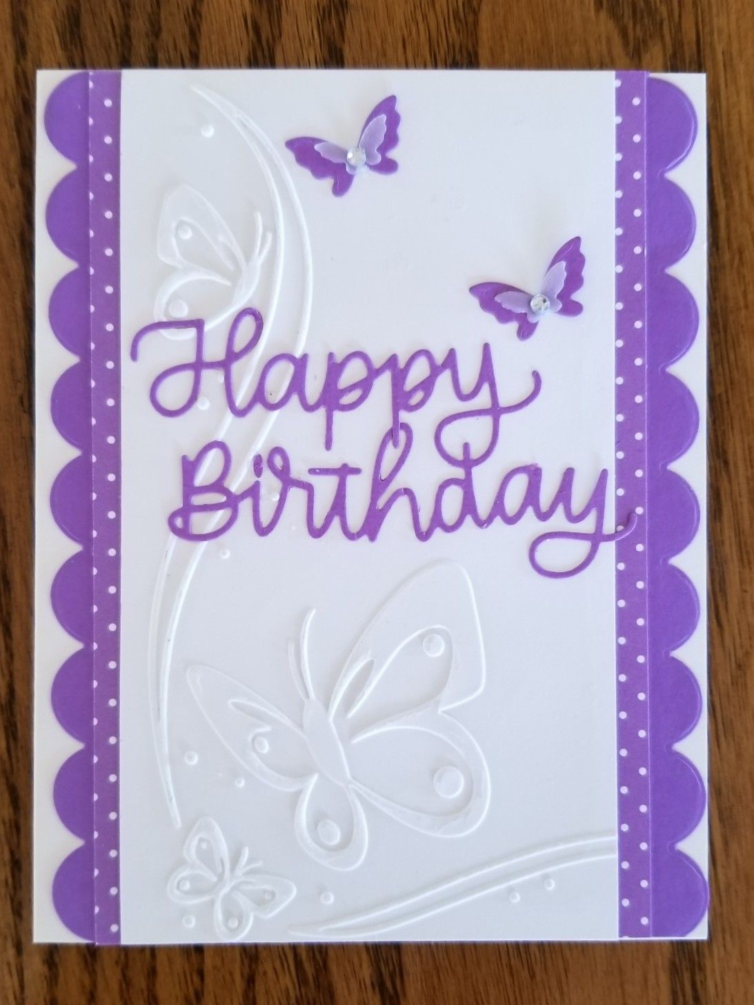 Pin By Lou Ann Balla On My Card Creations Happy Birthday Happy