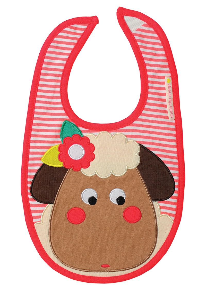 Sheila the Sheep Bib from Olive & Moss