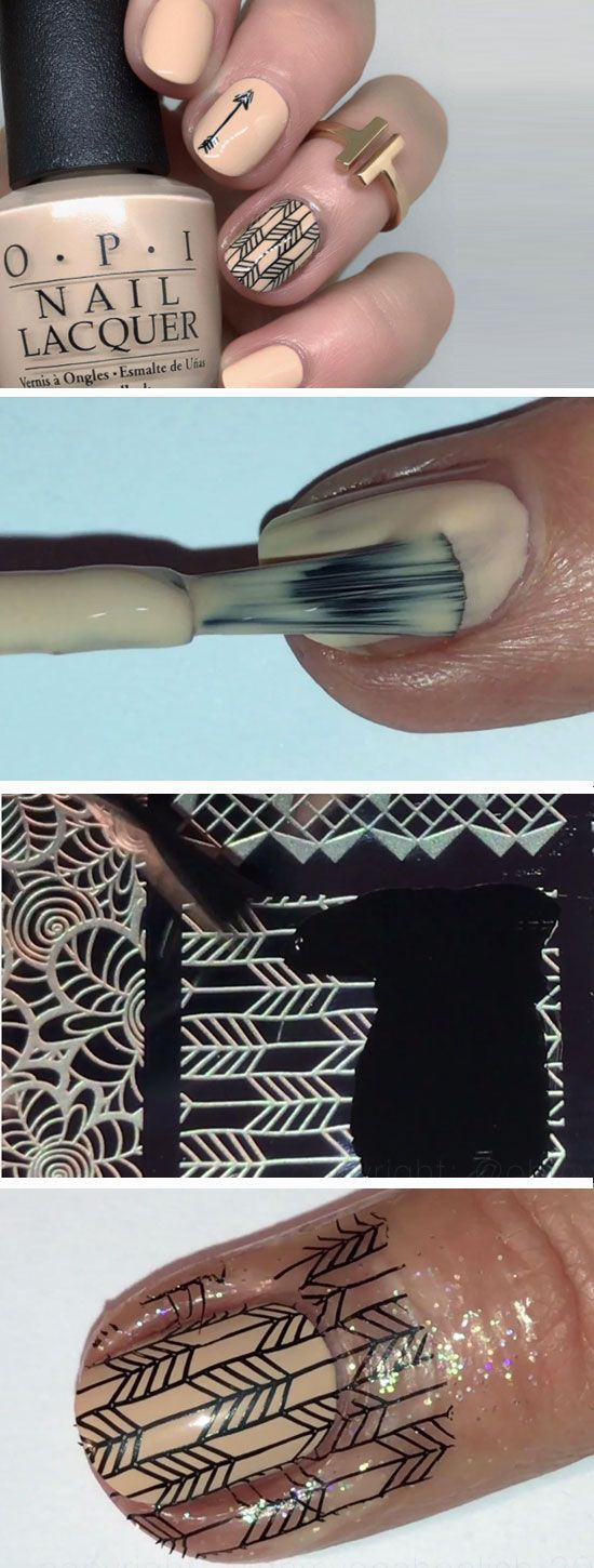 22 Easy Fall Nail Designs for Short Nails | Short nails and Make up