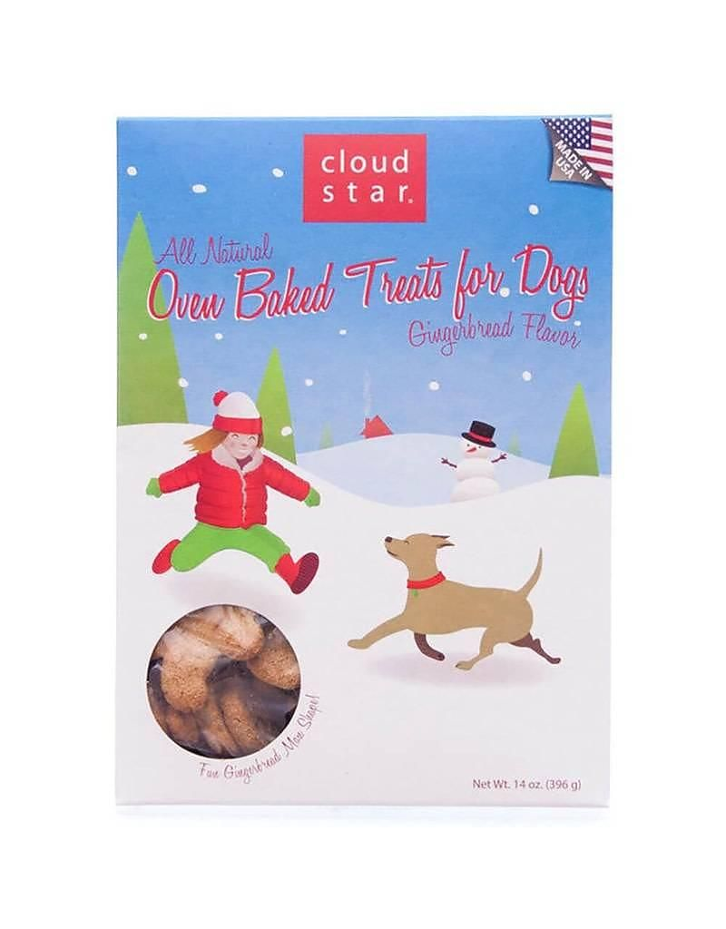 Cloud star cloud star dog holiday treats oven baked