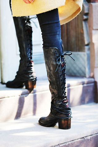 ffb71a35b08 Freebird by Steven Womens Coal Tall Boot. Saw these in person ...