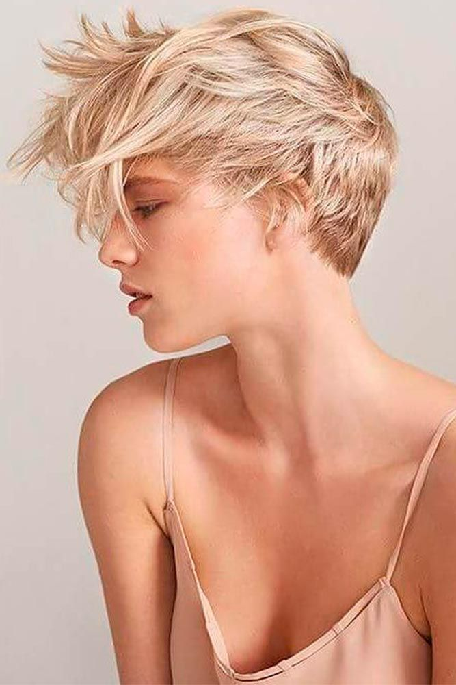 57 Blonde Short Hairstyles For Round Faces | Prom ...