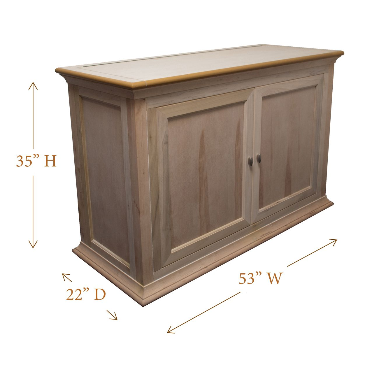 Hartford Unfinished Wood Tv Lift Cabinet 9 Available Finishes