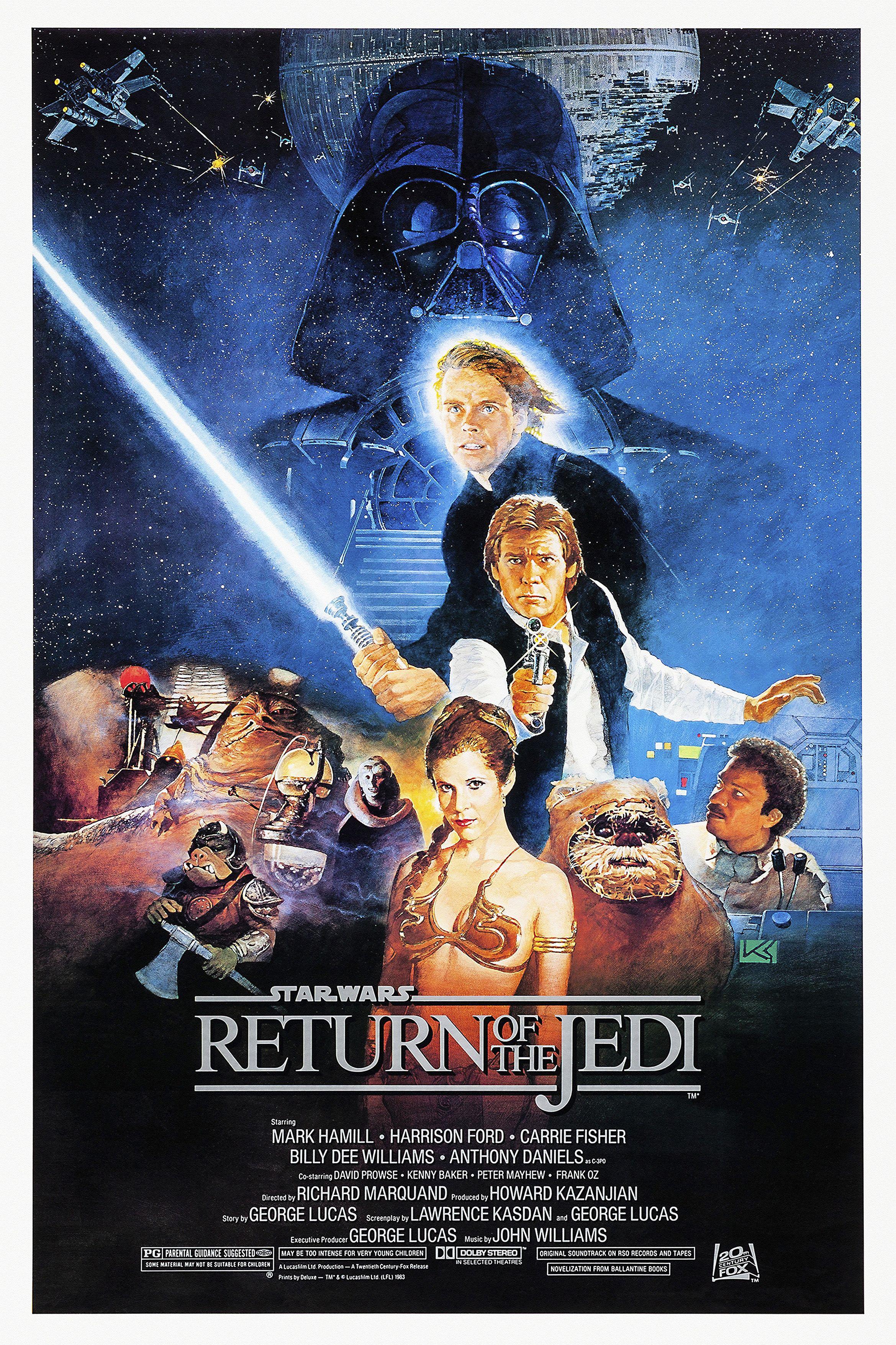 Return Of The Jedi Star Wars Movies Posters Star Wars Movie Star Wars Poster