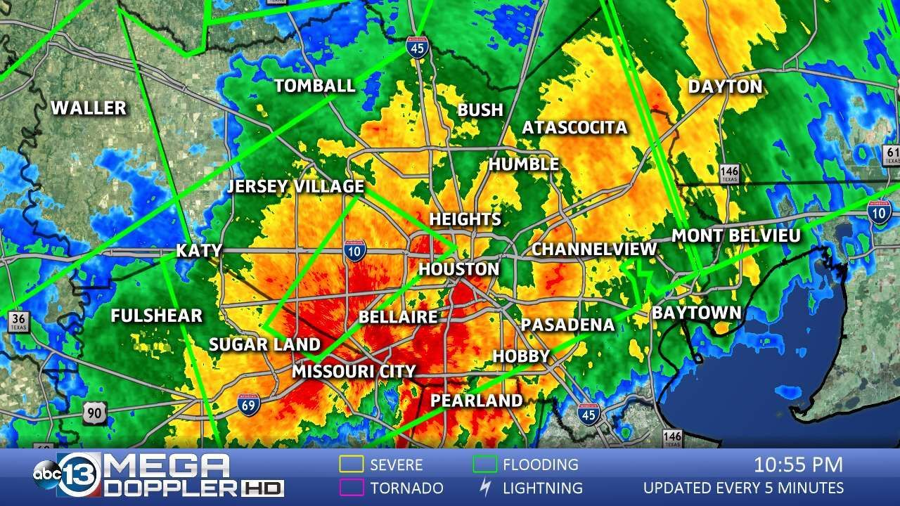 View our Mega Doppler Harris County weather
