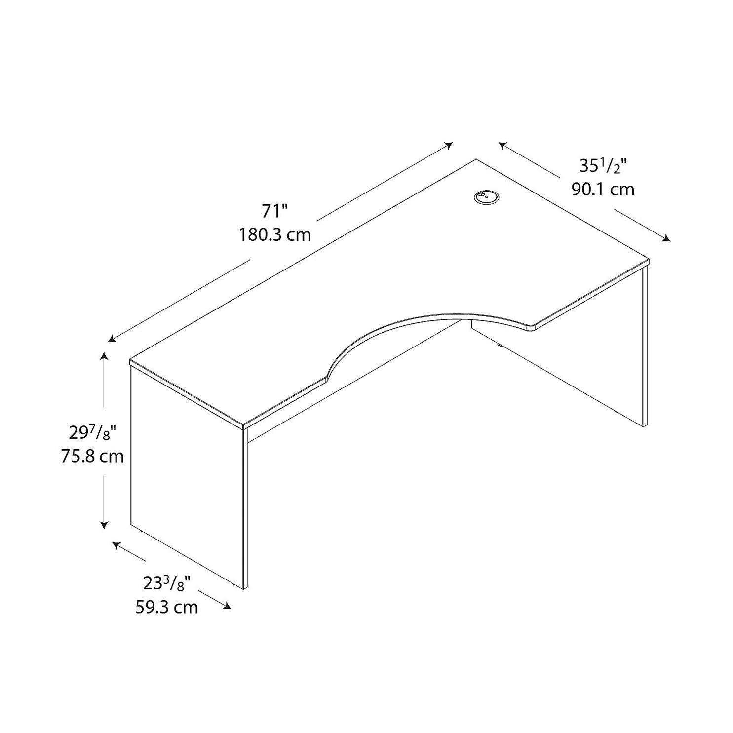 versare's corner desk cubicle space dimensions | new! cubicle