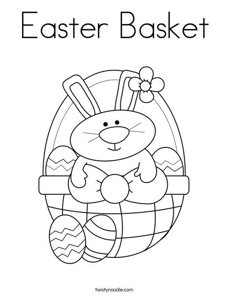 Easter Basket Coloring Page Easter Coloring Sheets Easter Coloring Pages Easter Colouring