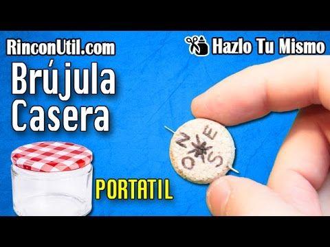 Brújula casera portatil - YouTube