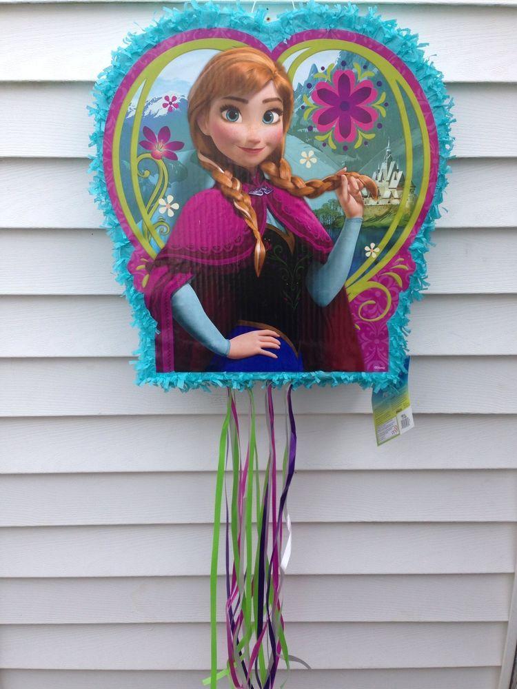 Frozen Anna And Elsa Disney Party Pinata