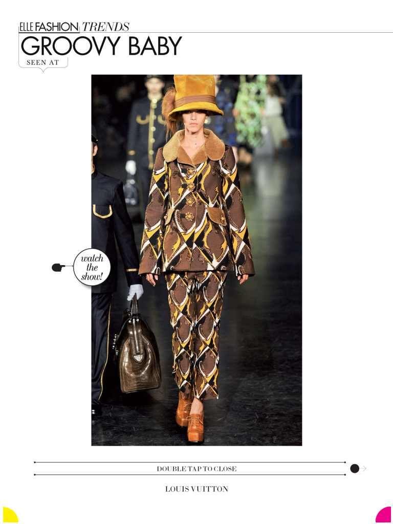 Louis Vuitton from @ELLE Magazine (US) August 2012