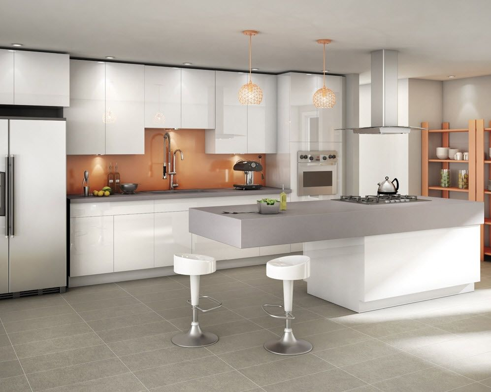 Rona Renovation Projects And Home Construction Modern Kitchen Island Modern Kitchen Cabinets Contemporary Style Kitchen