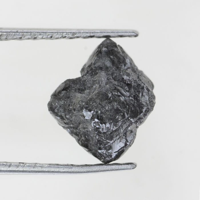 1.56 Ct Grayish Color Loose Opaque Sparkling Natural Rough (Raw) Diamond