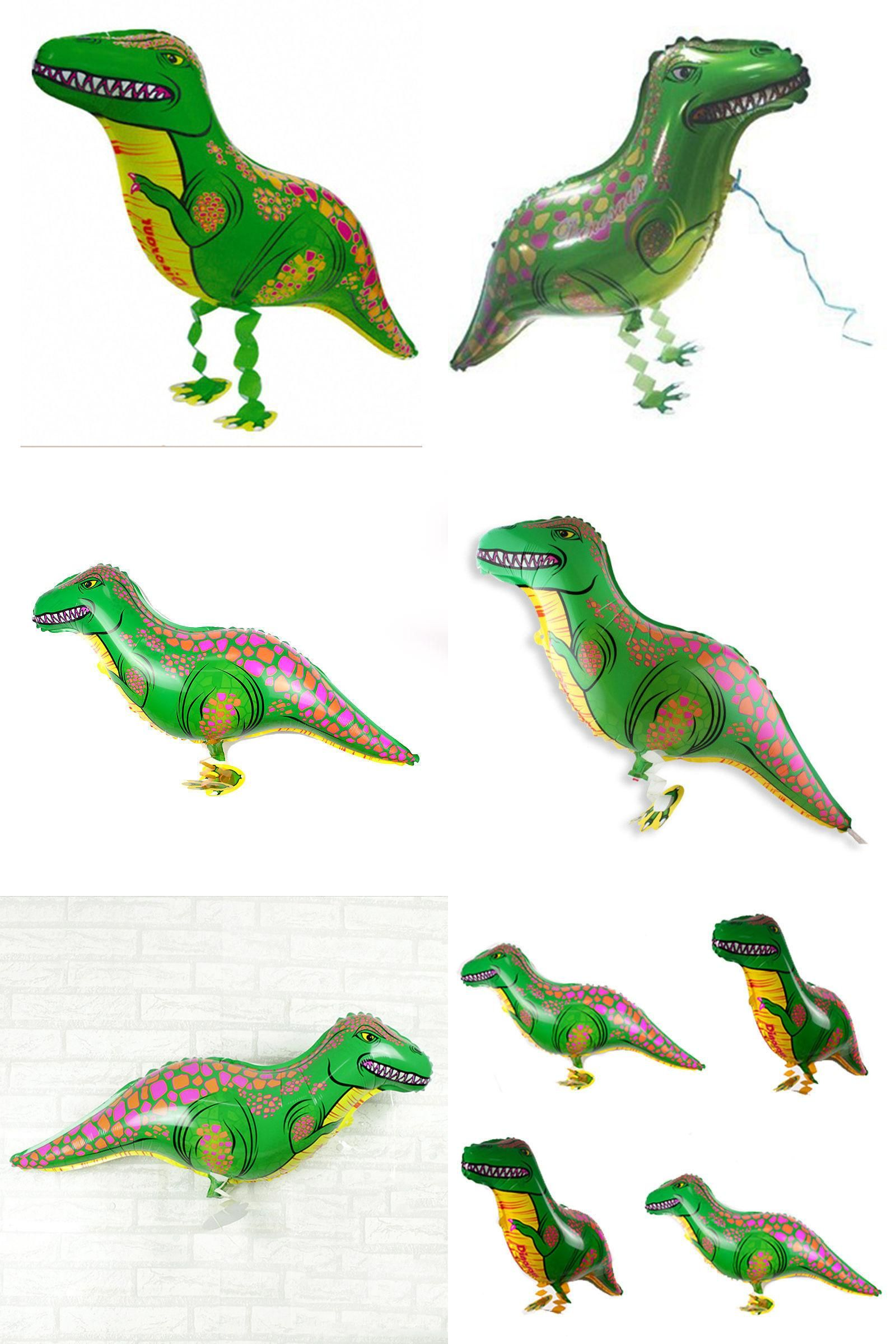 Party Inflatable Air Balloons Decor For Boys Toy Dinosaur Foil Balloons
