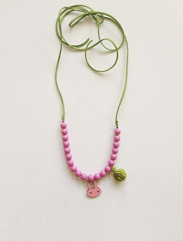 the | tassel bunny | necklace