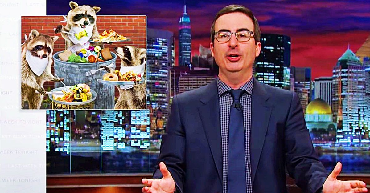 John Oliver Tackles Food Waste Prepare To Be Appalled By Humanity
