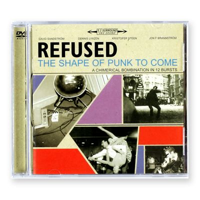 $11 99 Refused - The Shape of Punk To Come DVD Audio | Merch