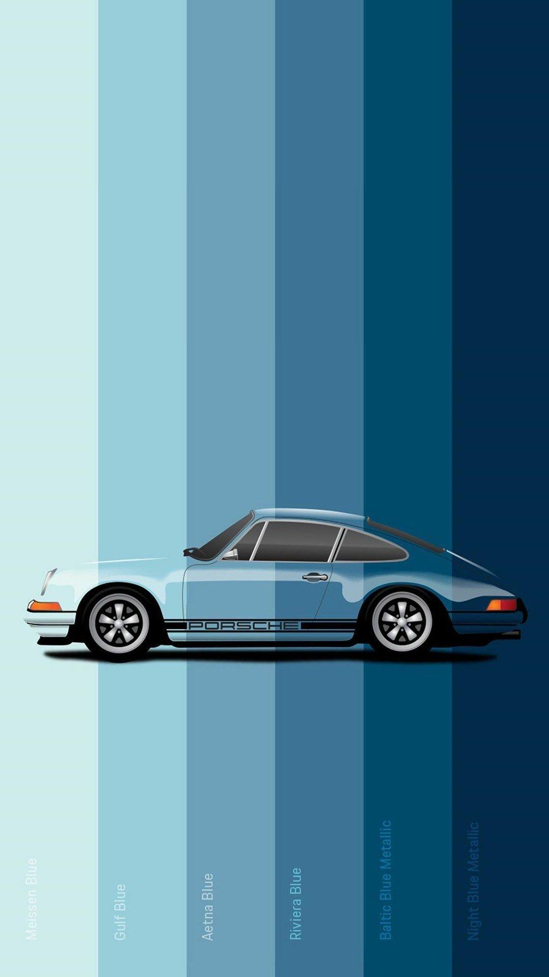 Blue Porsche Samsung Galaxy Note 4k Wallpapers Traxzee In 2021 Porsche Wallpaper Car Wallpapers Porsche