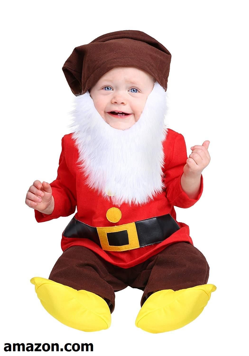 FEESHOW Baby Boys Christmas Santa Claus Outfits Romper Bodysuit Costume