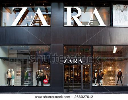 Beijing China November 17 2014 Zara Store Zara Is One Of Shop Facade Facade Design Facade Architecture