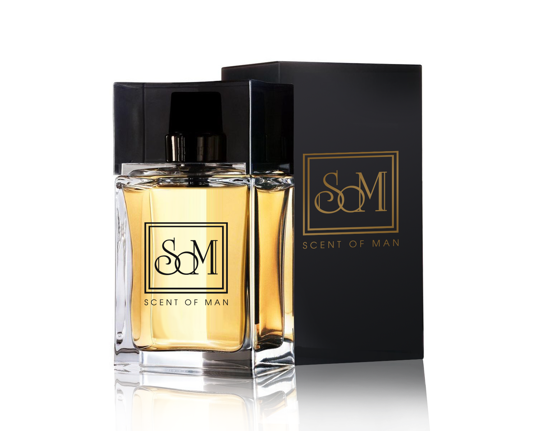 Logo design for new masculine perfume Scent of Man. logo/ logo ...