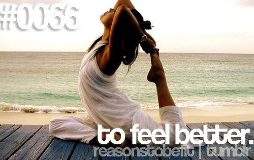 Reasons to be fit <3