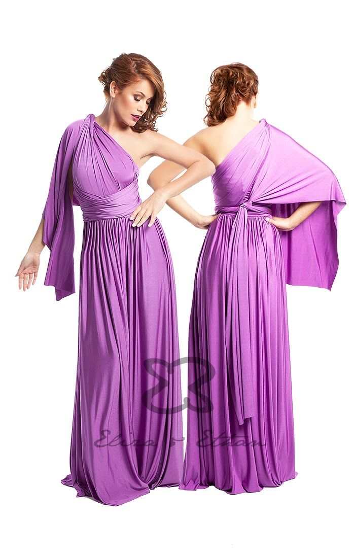Eliza & Ethan Multi-Wrap Dress Tutorial - Style 15 | Infinity Dress ...