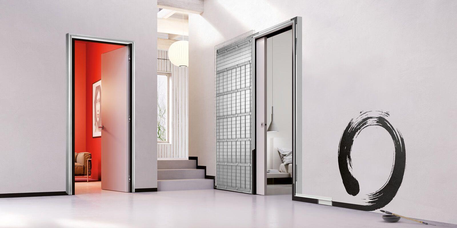 Telai Porte Scorrevoli - Idee di Design Per La Casa - rustify ...