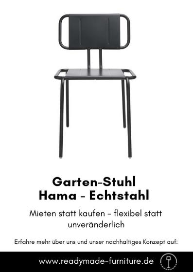 Der Designer Gartenstuhl Von Echtstahl Ist Sehr Robust. Er Kann Ebenso  Indoor Wie Outdoor